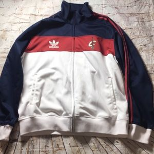Cleveland Cavaliers Adidas Track Warm Up Jacket 2X